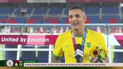 Arana exalta humildade da Seleção na campanha do ouro olímpico - Olimpíadas de Tóquio