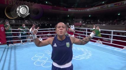 Bia Ferreira fica com a medalha de prata no boxe e pede desculpas