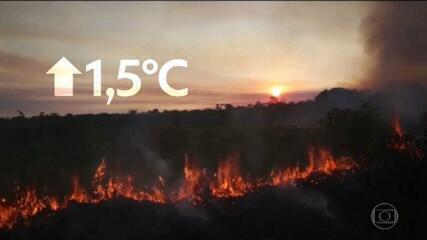 Mudanças climáticas provocadas pelo homem são irreversíveis e sem precedentes, diz relatório da ONU