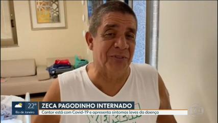 Zeca Pagodinho agradece orações e pede: 'o importante é se vacinar