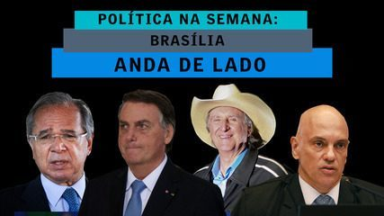 Brasília anda de lado