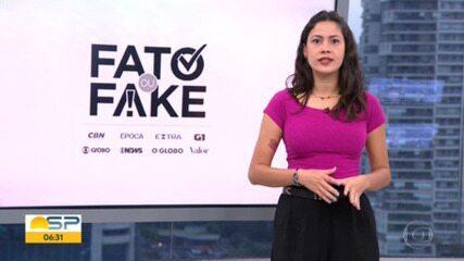 Fato ou Fake no Bom Dia SP