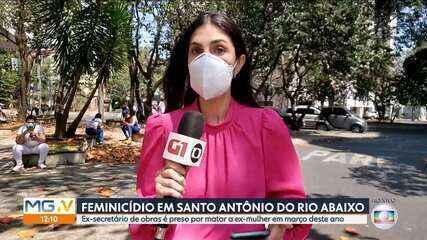 Ex-secretário municipal de Santo Antônio do Rio Abaixo é preso suspeito de feminicídio