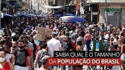 VÍDEO: Saiba qual é o tamanho da população do Brasil