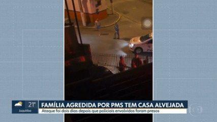 Família que denunciou agressão por PMs tem casa alvejada no ABC, na madrugada desta segunda-feira (30)
