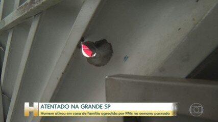 Casa de família que denunciou agressão de PMs durante abordagem na grande SP é atacada a tiros