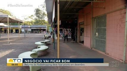 Reforma no rodoshopping de Palmas deve ficar pronta em dezembro