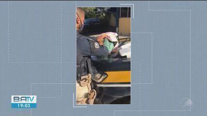 Mulher é presa com cinco quilos de cocaína escondida em mochila na Chapada Diamantina