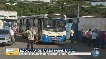 Após paralisação, rodoviários retomam serviço e ônibus começam a circular em Salvador