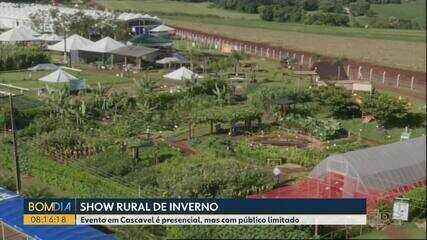 Show Rural de inverno acontece em Cascavel