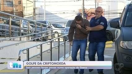 Grupo suspeito de aplicar golpes com criptomoedas é preso durante operação na região