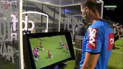 Al 36' del primo tempo - dopo aver analizzato il VAR, l'arbitro annulla il calcio di rigore in favore di Vasco.