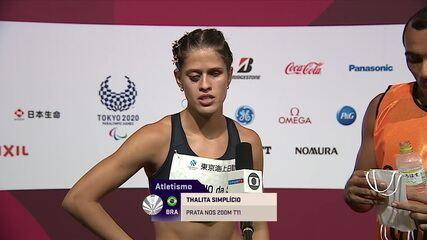 """""""Hicimos nuestro mejor esfuerzo por hoy""""Thalita Simplício celebra medalla de plata - Juegos Paralímpicos de Tokio"""
