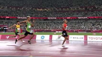 Thomaz Moraes se llevó la plata y Petrúcio Ferreira el bronce en los 400m T47 - Tokio Paralímpico