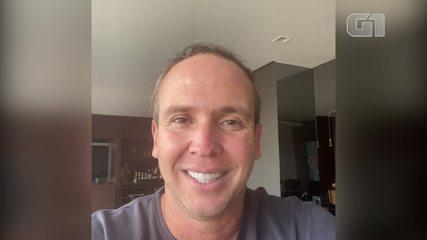 VÍDEO: Caio Ribeiro revela que está fazendo tratamento contra o câncer