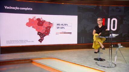Brasil tem média móvel de 609 mortes diárias por Covid