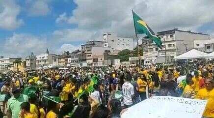 Neste 7 de setembro, manifestantes fizeram ato em Arapiraca em defesa de Bolsonaro