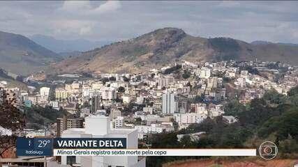 Minas Gerais registra a sexta morte pela variante Delta