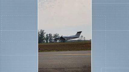 Imagens mostram desespero de pessoas ao ver avião cair em Piracicaba