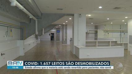 Leitos voltados para pacientes com coronavírus começam a ser desmobilizados em Salvador