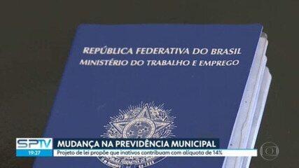 Prefeitura de SP envia à Câmara projeto de reforma da Previdência