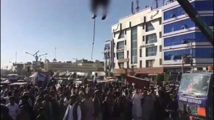 Talibã dá demonstração de brutalidade no Afeganistão