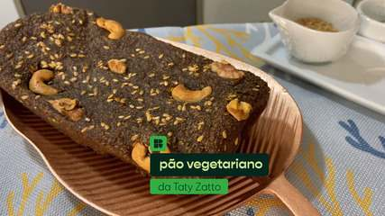 Taty Zatto ensina a fazer pão vegetariano