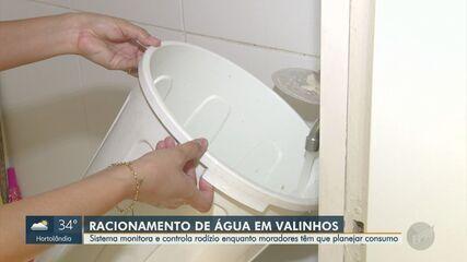 Entenda sistema de monitoramento e rodízio de abastecimento de água em Valinhos
