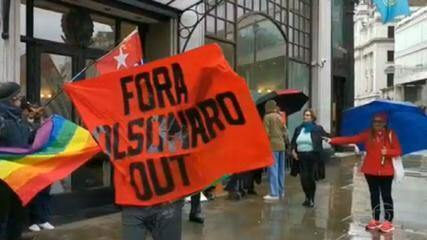Pelo menos seis países além do Brasil tiveram protestos contra o presidente Bolsonaro