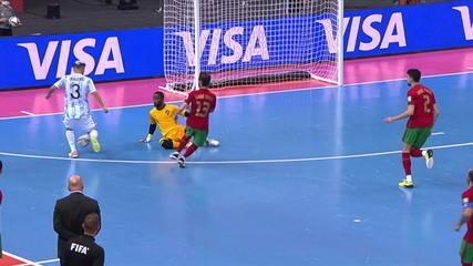 Resumen: Argentina 1 x Portugal en la final de la Copa del Mundo de Fútsal