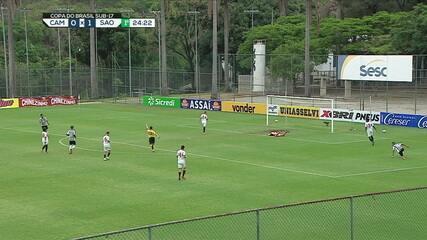 Melhores Momentos: Atlético-MG 0 x 1 São Paulo, pela semifinal da Copa do Brasil Sub-17