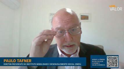 É preciso discutir novo pacto social, com prioridade para crianças e jovens, diz Tafner