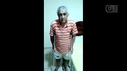 Família de idoso de 70 anos pede ajuda para que ele consiga cirurgia e prótese no fêmur