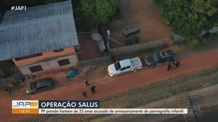 'Salus': PF prende homem de 23 anos acusado de armazenar e produzir pornografia infantil