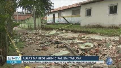 Retorno das aulas presenciais é adiado em Itabuna após acidente que matou pai e filho