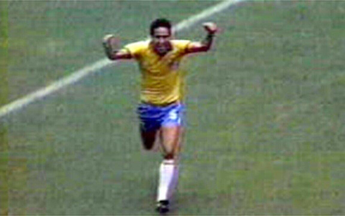 Em 1986, Brasil vence a Irlanda do Norte na Copa do Mundo