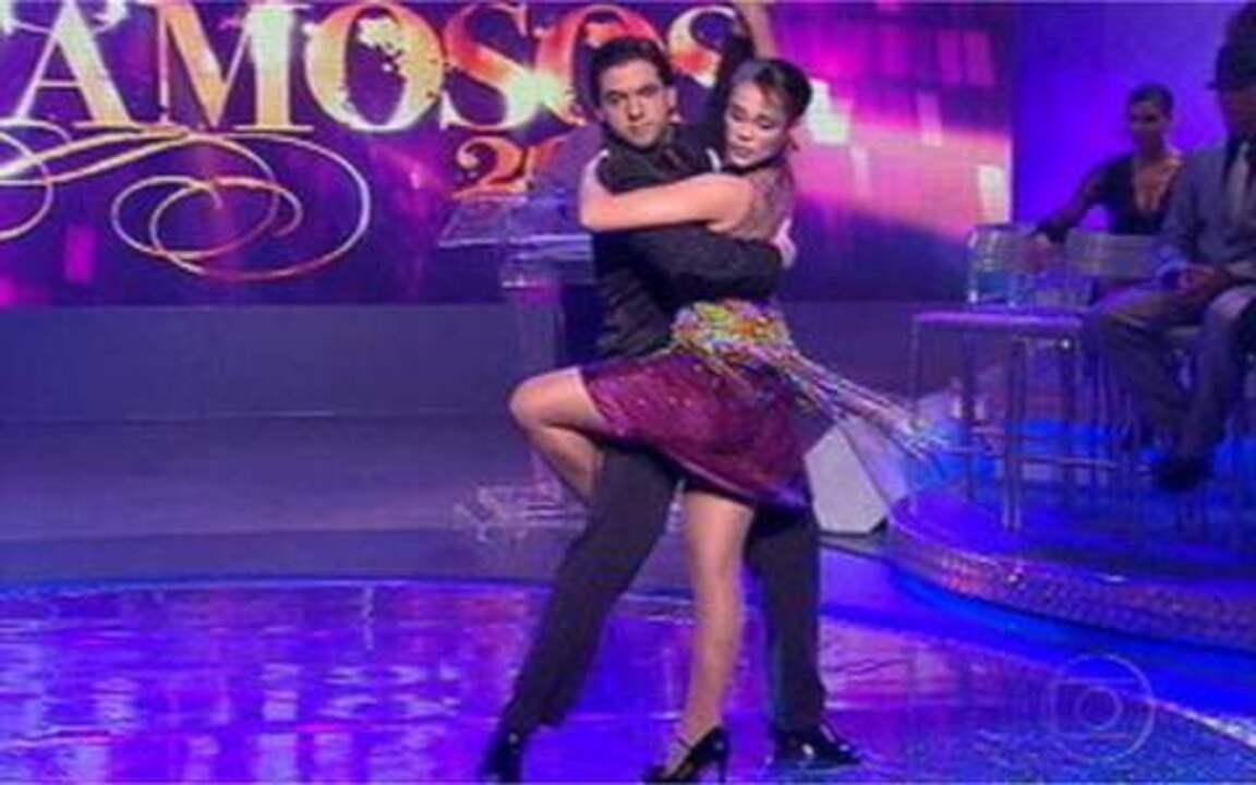 Reveja Paolla Oliveira arrasando no tango