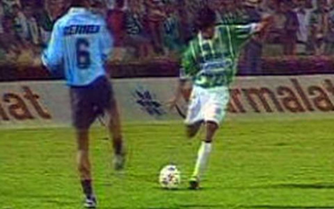 Em 1995, Palmeiras goleia o Grêmio por 5 a 1 pela Taça Libertadores