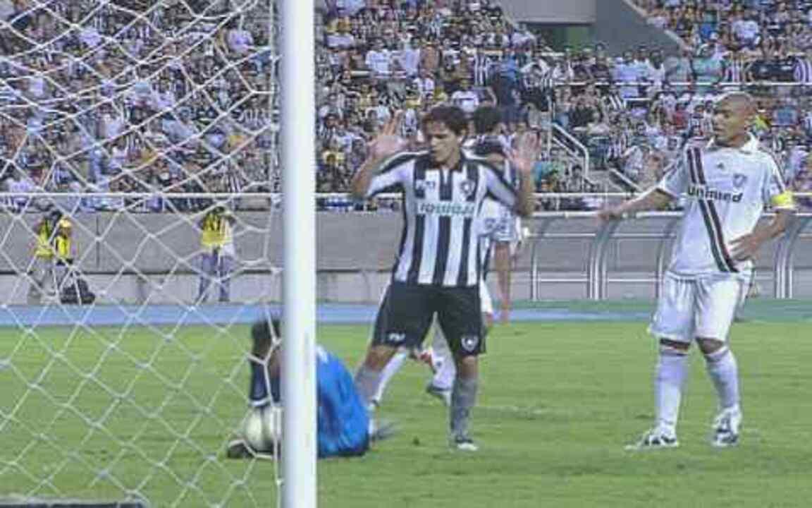 Melhores momentos: Botafogo 0 x 0 Fluminense pela 24ª rodada do Brasileirão 2009