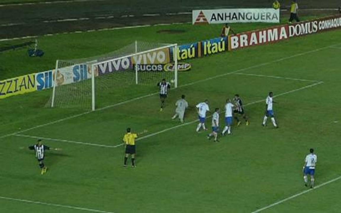 Gol do Santos! Neymar faz linda jogada e marca, aos 25 do 1º tempo