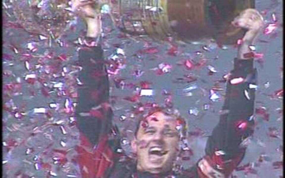 Em 2005, São Paulo garante o tricampeonato na Libertadores após 4 x 0 sobre Atlético-PR