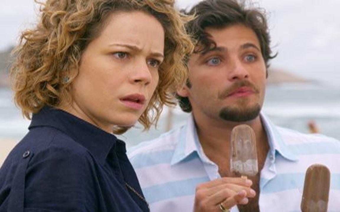 Passione - capítulo de sábado, dia 11/09/2010, na íntegra - Agostina e Jéssica se encontram e descobrem que ambas são casadas com Berilo.
