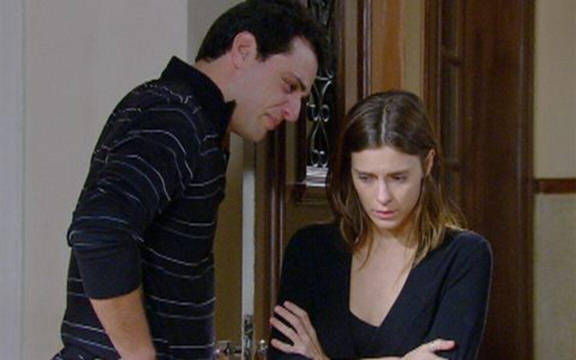 Passione - capítulo de terça feira, dia 09/11/2010, na íntegra - Diana simula estar confusa quanto aos seus sentimentos por Mauro