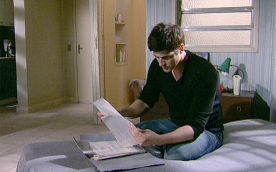 Passione - capítulo de terça feira, dia 11/01/2011, na íntegra - Gerson entrega os documentos de Lobato para Fred