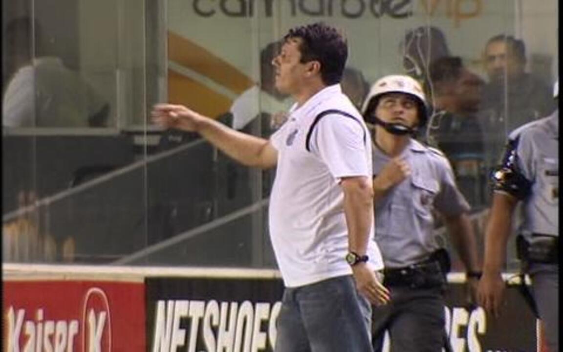 Santos fica no empate com o São Bernardo por 1 a 1, e técnico deixa o time