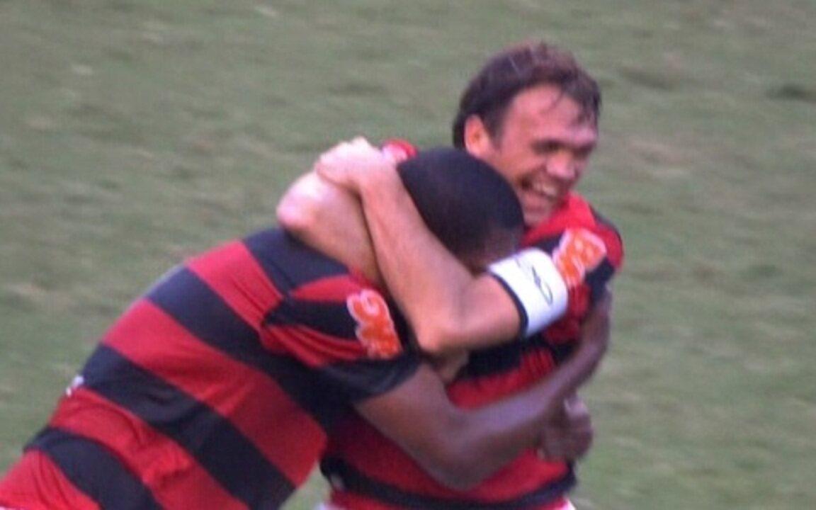 Os gols de Flamengo 1 x 1 Corinthians pela 3ª rodada do Brasileirão 2011