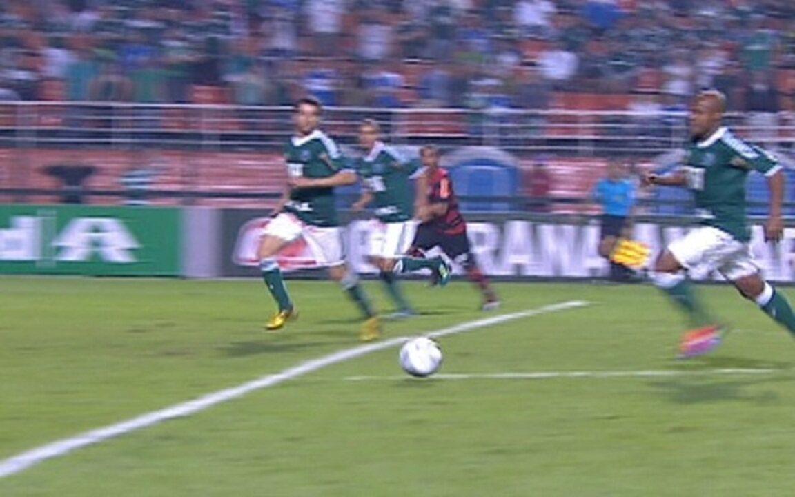 Palmeiras 0 x 0 Flamengo pela 10ª rodada do Brasileirão 2011
