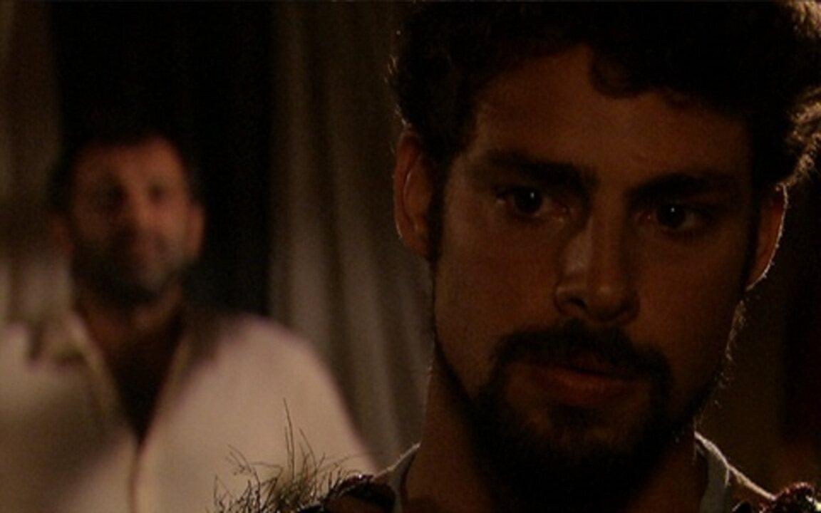 Capítulo de 08/08/2011 - Herculano passa o comando da batalha para Jesuíno.Timóteo exonera Batoré e manda prendê-lo com Neusa. Lilica ouve Benvinda falar sobre a ação contra Timóteo