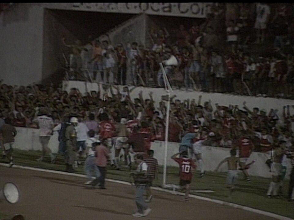 Em 1992, Internacional venceu o Fluminense na final da Copa do Brasil: Itaberá estava lá