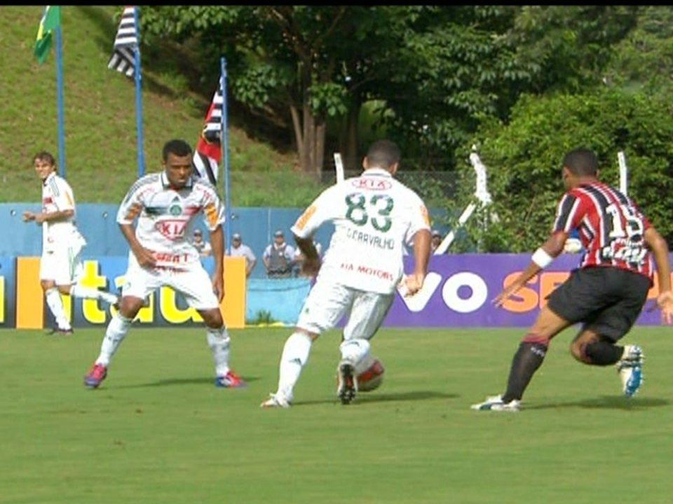 Melhores momentos: Palmeiras 3 x 3 São Paulo pela 10ª rodada do Campeonato Paulista 2012